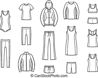 sport, vêtements