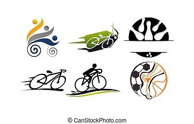 Sport Vector Template Set