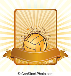 sport, volley-ball, fond