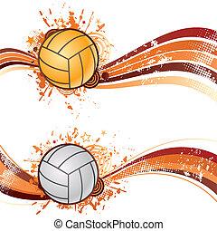 sport, volleyball