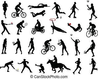 sport, vybírání