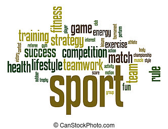Sport  word cloud