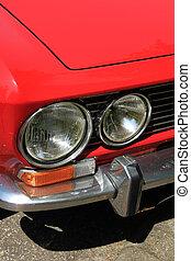 sportcar, détail, italien