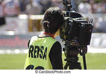 sporten, media