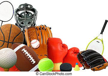 sporten, toestellen