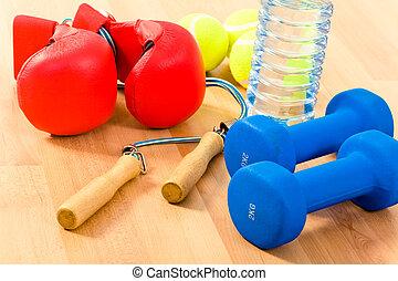 sporten, voorwerpen