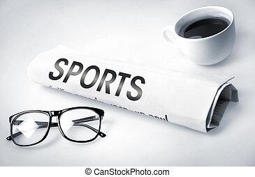sporten, woord