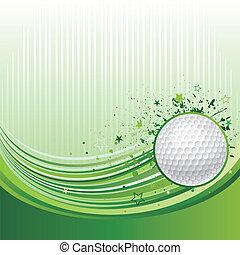 sportende, golf, achtergrond