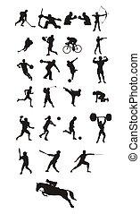 sportende, iconen