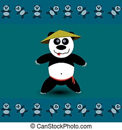 sportende, panda