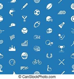 sportende, seamless, achtergrond, textuur