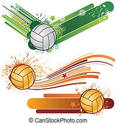 sportende, volleybal