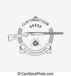 sporting clay Skeet - vintage clay target and gun club ...