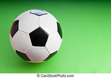 Sporting concept with football