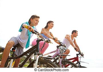 sportive, familj