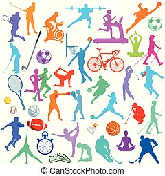 Sportliche Icons
