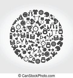Sports a circle