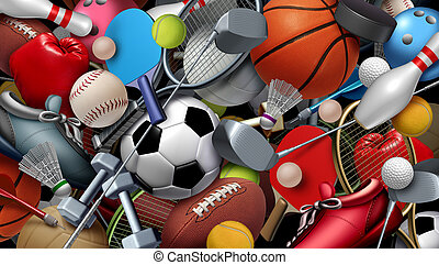 Sports And Games Background