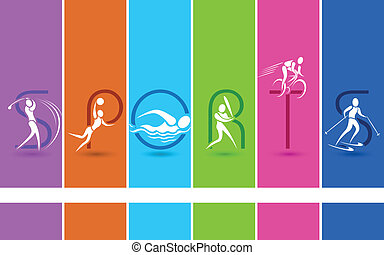 sports background vector clipart royalty free 287 611 sports