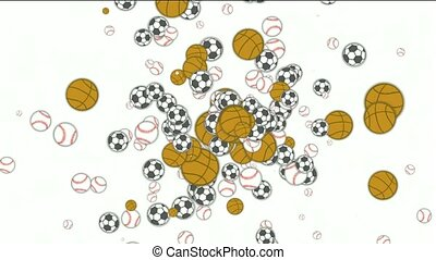 Sports balls,basketball,football