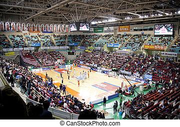 Sports basketball arena in south korea