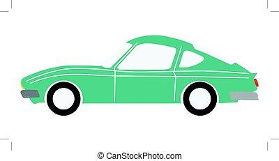 sports car - vector illustration of sports car