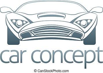 Sports car design
