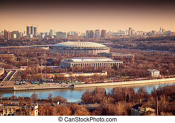 "Sports complex ""Luzhniki"" in Moscow"
