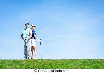 Sports couple