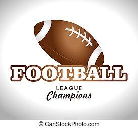 Sports design over white background vector illustration