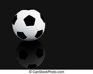 Sports Equipment. 3D illustration