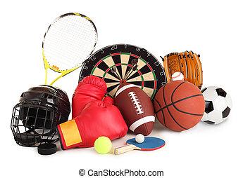 sports, et, jeux, arrangement