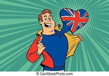 sports fan loves UK
