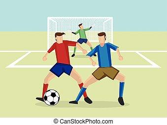 sports, football, man-to-man, défense