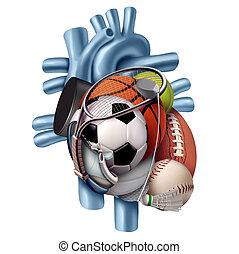 Sports Healthy Heart