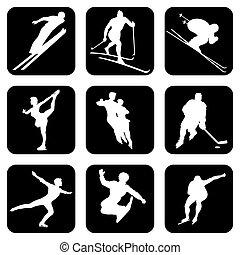sports, hiver