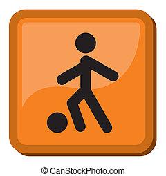 Sports icon football