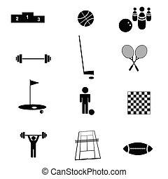sports icon vector illustration