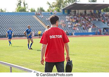 sports, läkare