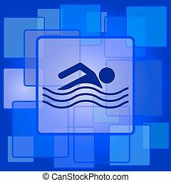 sports nautiques, icône