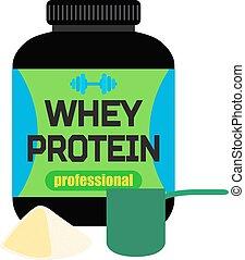 Sports nutrition, whey protein, professional powder,...
