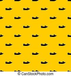 Sports powerboat pattern