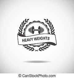 Sports - Set of various sports and fitness logo emblem ...
