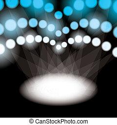 Sports spotlights - Stadium spotlights for sports or concert...
