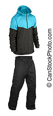 Sports suit on a white background isolated