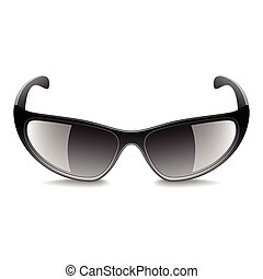 Sports sunglasses isolated on white vector