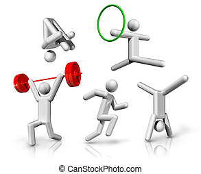 sports symbols icons series 7