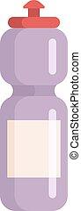 Sports water bottle vector illustration. Sports water bottle...