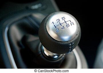 sportscar, indgreb, shifter