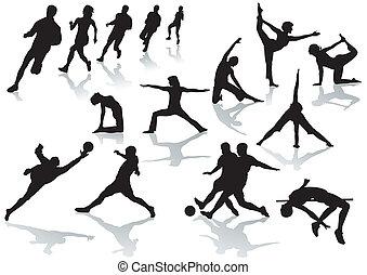 sportsman and sports women